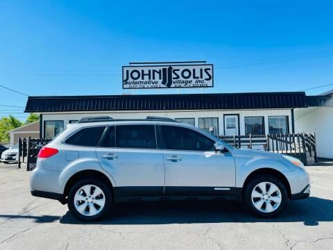 2010 Subaru Outback for sale at John Solis Automotive Village in Idaho Falls ID