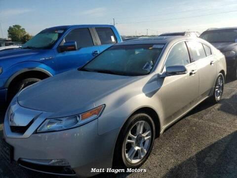 2009 Acura TL for sale at Matt Hagen Motors in Newport NC