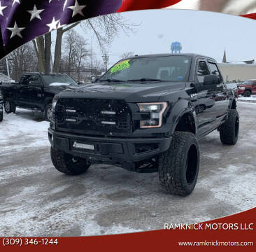 2017 Ford F-150 for sale at RamKnick Motors LLC in Pekin IL