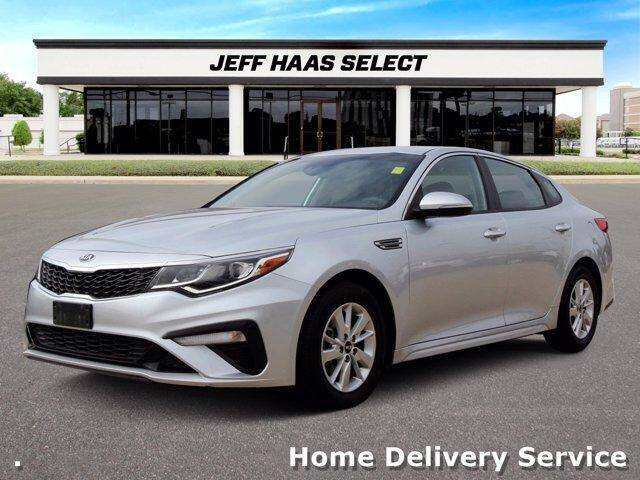 2019 Kia Optima for sale at JEFF HAAS MAZDA in Houston TX