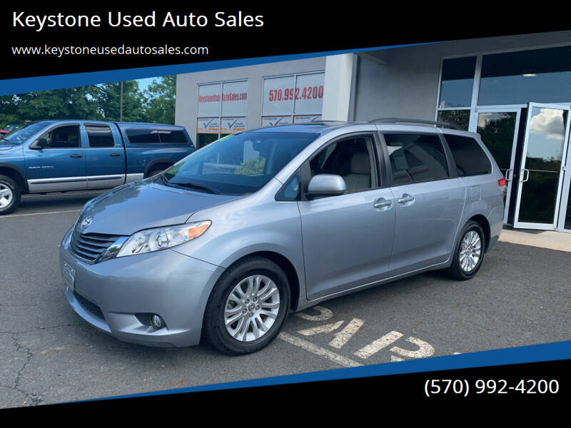 2011 Toyota Sienna for sale at Keystone Used Auto Sales in Brodheadsville PA