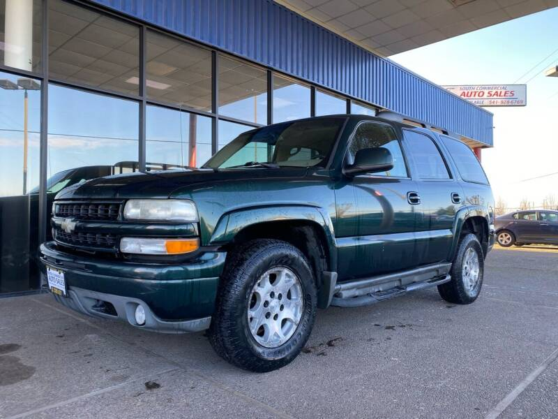 2003 Chevrolet Tahoe for sale at South Commercial Auto Sales in Salem OR