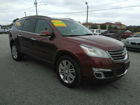 2015 Chevrolet Traverse for sale at Kelly & Kelly Supermarket of Cars in Fayetteville NC