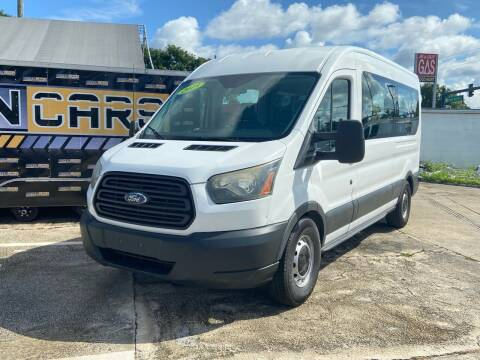 2015 Ford Transit Passenger for sale at DOVENCARS CORP in Orlando FL