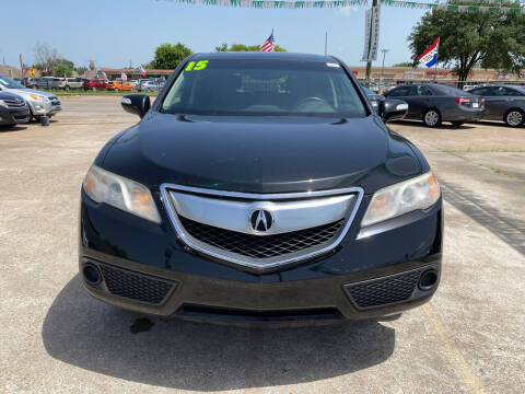2015 Acura RDX for sale at SOUTHWAY MOTORS in Houston TX