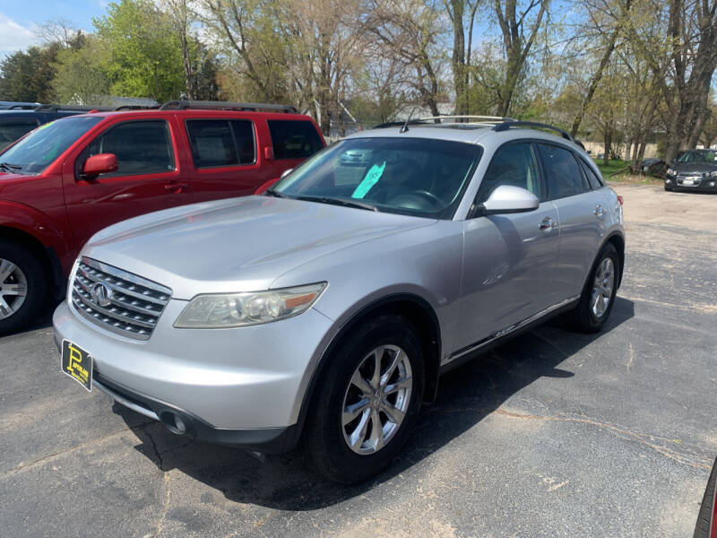 2008 Infiniti FX35 for sale at PAPERLAND MOTORS in Green Bay WI