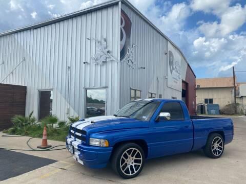 1996 Dodge Ram Pickup 1500 for sale at Barrett Auto Gallery in San Juan TX