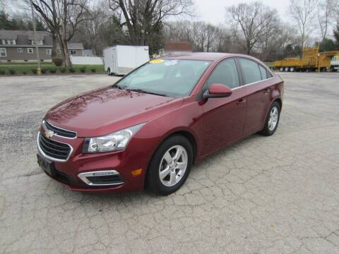 2016 Chevrolet Cruze Limited for sale at Brown's Truck Accessories Inc in Forsyth IL