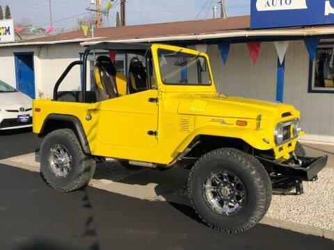 1971 Toyota Land Cruiser for sale at Shogun Auto Center in Hanford CA