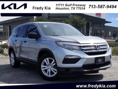 2017 Honda Pilot for sale at FREDY KIA USED CARS in Houston TX