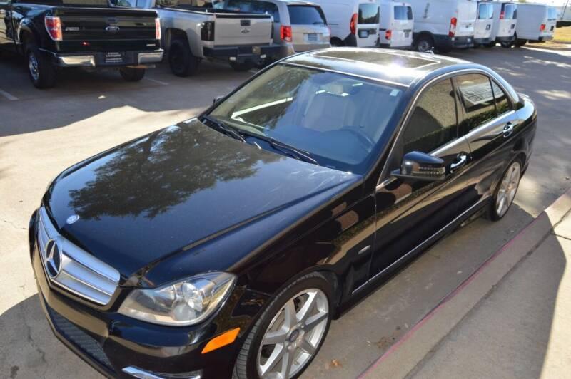 2012 Mercedes-Benz C-Class for sale at E-Auto Groups in Dallas TX