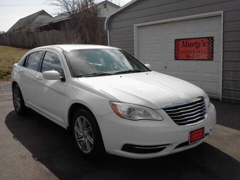 2012 Chrysler 200 for sale at Marty's Auto Sales in Lenoir City TN