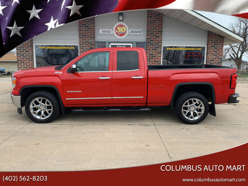 2014 GMC Sierra 1500 for sale at Columbus Auto Mart in Columbus NE
