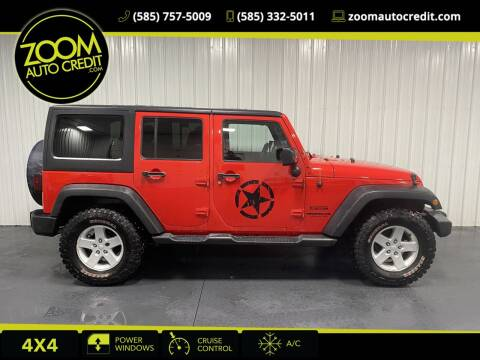 2015 Jeep Wrangler Unlimited for sale at ZoomAutoCredit.com in Elba NY