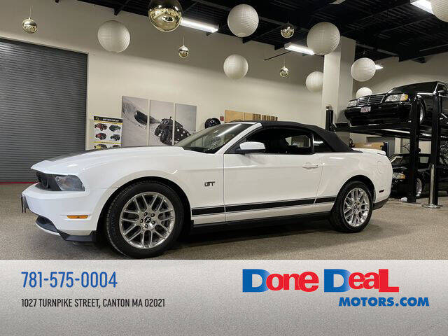2010 Ford Mustang for sale at DONE DEAL MOTORS in Canton MA