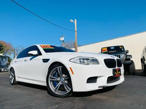 2013 BMW M5 for sale at Alpha AutoSports in Roseville CA