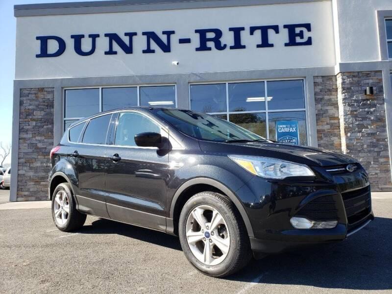 2014 Ford Escape for sale at Dunn-Rite Auto Group in Kilmarnock VA