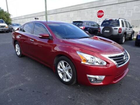 2013 Nissan Altima for sale at DONNY MILLS AUTO SALES in Largo FL