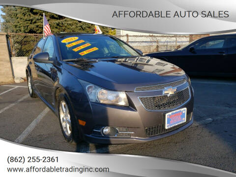 2011 Chevrolet Cruze for sale at Affordable Auto Sales in Irvington NJ