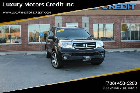 2012 Honda Pilot for sale at Luxury Motors Credit Inc in Bridgeview IL