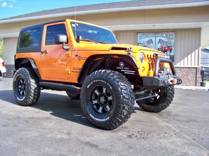 2012 Jeep Wrangler for sale at RPM Auto Sales in Mogadore OH