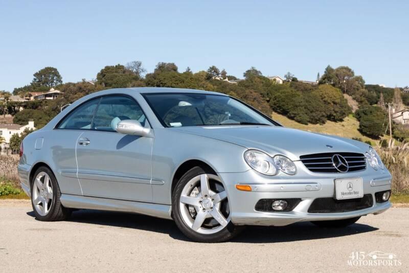 2005 Mercedes-Benz CLK for sale at 415 Motorsports in San Rafael CA