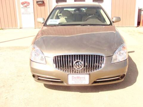 2010 Buick Lucerne for sale at DeMers Auto Sales in Winner SD
