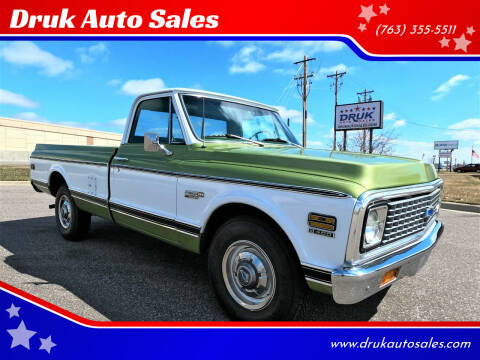 1972 Chevrolet C/K 10 Series for sale at Druk Auto Sales in Ramsey MN