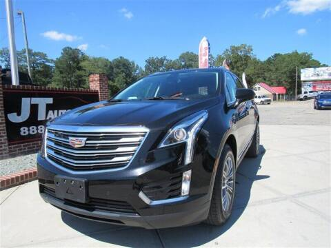 2017 Cadillac XT5 for sale at J T Auto Group in Sanford NC