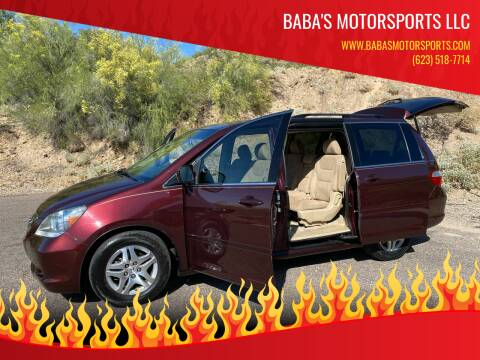 2007 Honda Odyssey for sale at Baba's Motorsports, LLC in Phoenix AZ