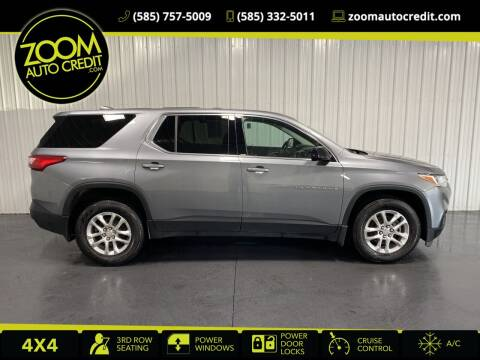 2018 Chevrolet Traverse for sale at ZoomAutoCredit.com in Elba NY