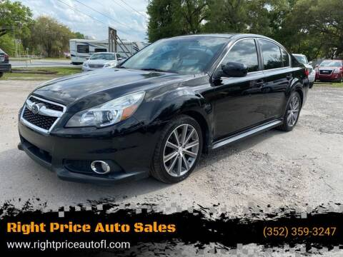 2013 Subaru Legacy for sale at Right Price Auto Sales in Waldo FL