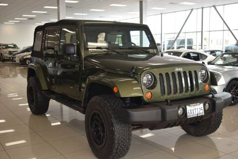 2007 Jeep Wrangler Unlimited for sale at Legend Auto in Sacramento CA