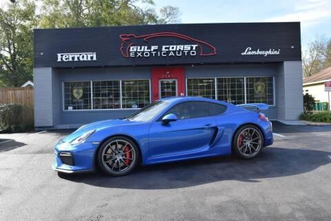 2016 Porsche Cayman for sale at Gulf Coast Exotic Auto in Biloxi MS
