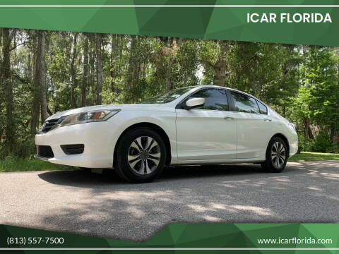 2013 Honda Accord for sale at ICar Florida in Lutz FL