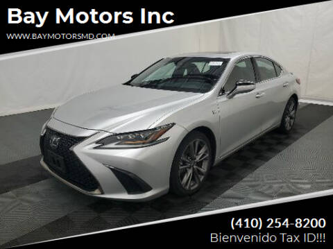 2019 Lexus ES 350 for sale at Bay Motors Inc in Baltimore MD