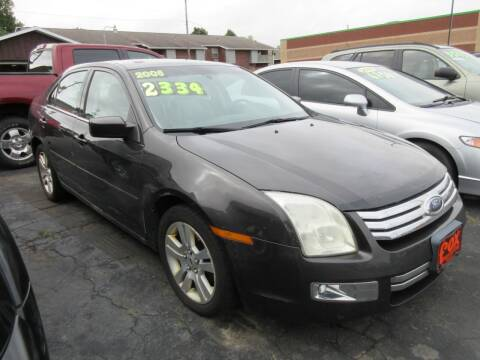 2006 Ford Fusion for sale at Fox River Motors in Green Bay WI