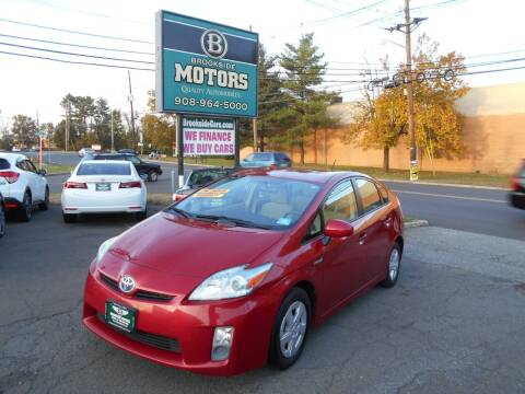 2011 Toyota Prius for sale at Brookside Motors in Union NJ