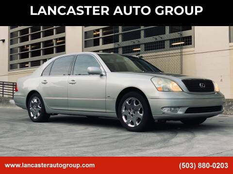 2002 Lexus LS 430 for sale at LANCASTER AUTO GROUP in Portland OR