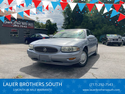 2004 Buick LeSabre for sale at LAUER BROTHERS SOUTH in York PA