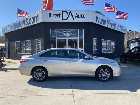 2017 Toyota Camry for sale at Direct Auto in D'Iberville MS