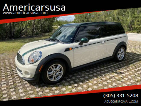 2013 MINI Clubman for sale at Americarsusa in Hollywood FL