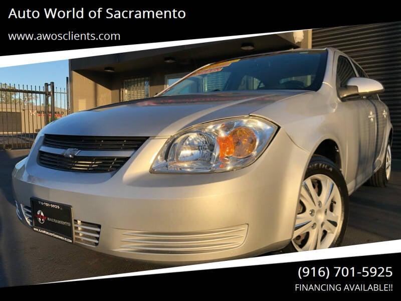 2007 Chevrolet Cobalt for sale at Auto World of Sacramento Stockton Blvd in Sacramento CA