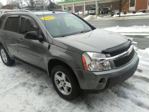 2005 Chevrolet Equinox for sale at BELLEFONTAINE MOTOR SALES in Bellefontaine OH