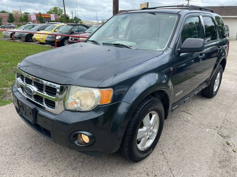 2008 Ford Escape for sale at Texas Select Autos LLC in Mckinney TX