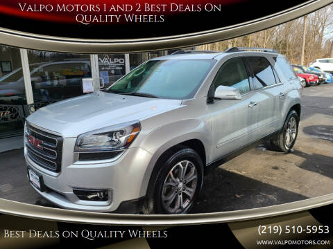 2015 GMC Acadia for sale at Valpo Motors 1 and 2  Best Deals On Quality Wheels in Valparaiso IN