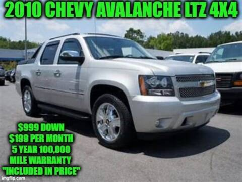 2010 Chevrolet Avalanche for sale at D&D Auto Sales, LLC in Rowley MA