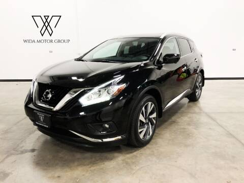 2018 Nissan Murano for sale at Wida Motor Group in Bolingbrook IL
