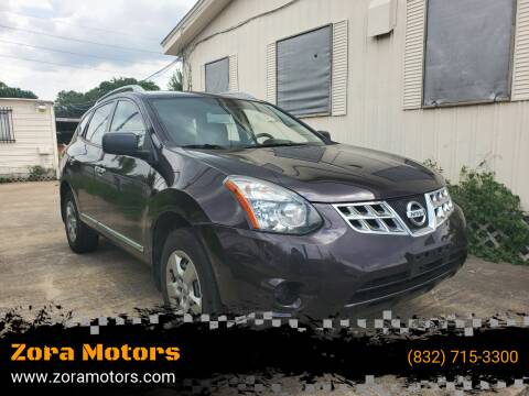 2014 Nissan Rogue Select for sale at Zora Motors in Houston TX