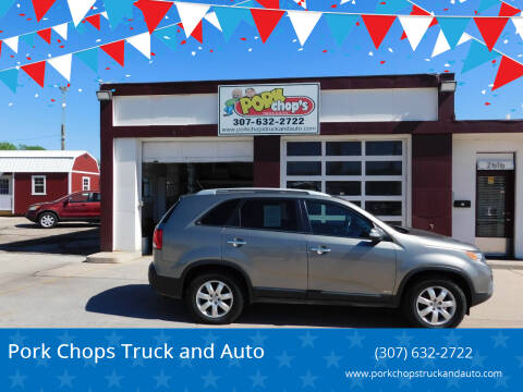 2012 Kia Sorento for sale at Pork Chops Truck and Auto in Cheyenne WY